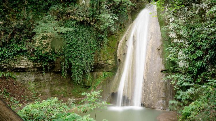Парк водопадов Parco delle Cascate diMolina