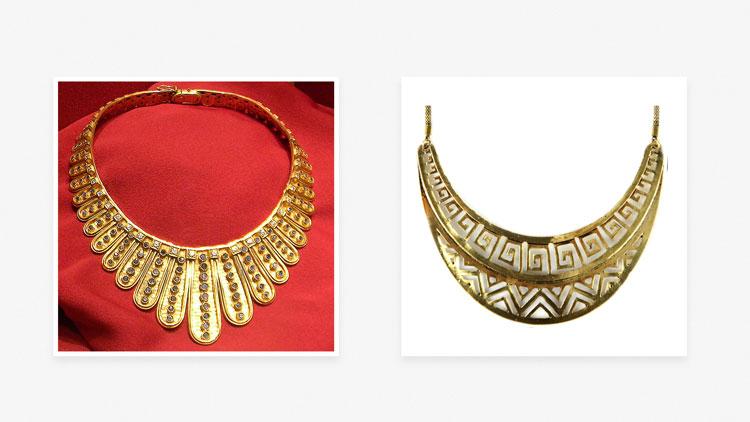 Шейные украшения в Древней Греции