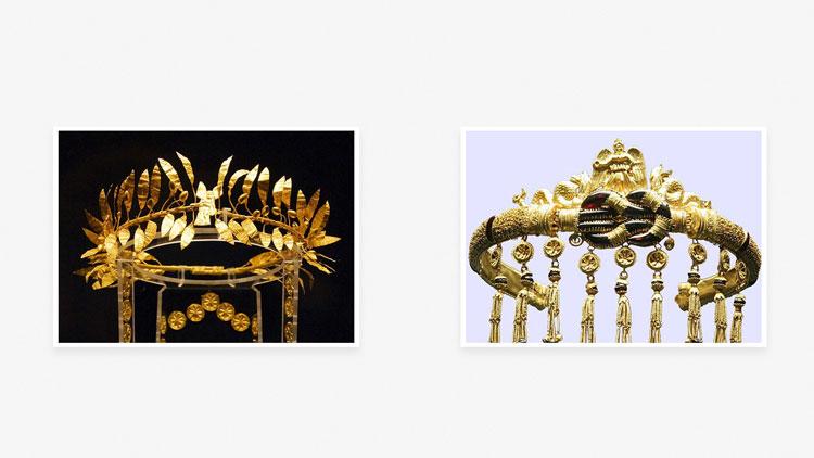 Диадемы в Древней Греции