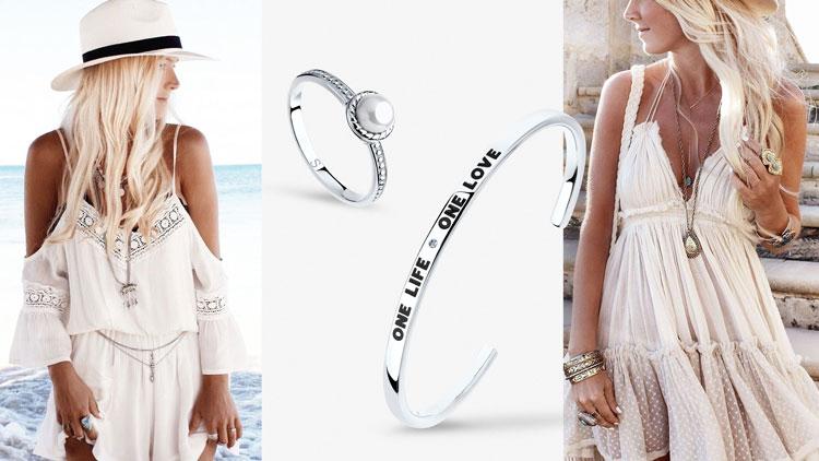 Кольцо и браслет из серебра