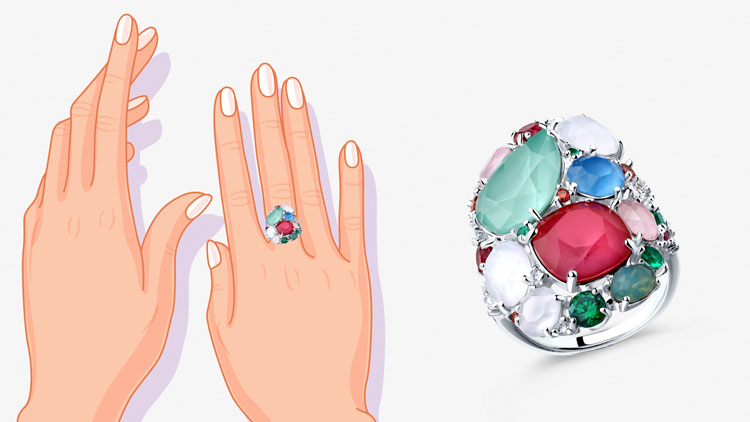 Как выбрать крупное кольцо: советы