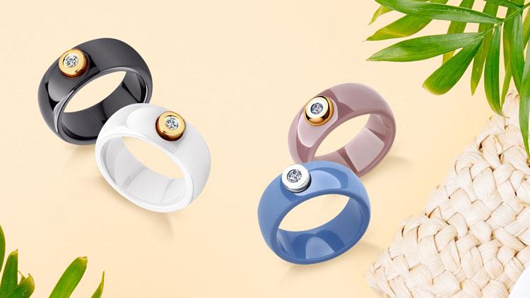 Керамические кольца, коллекция New Look