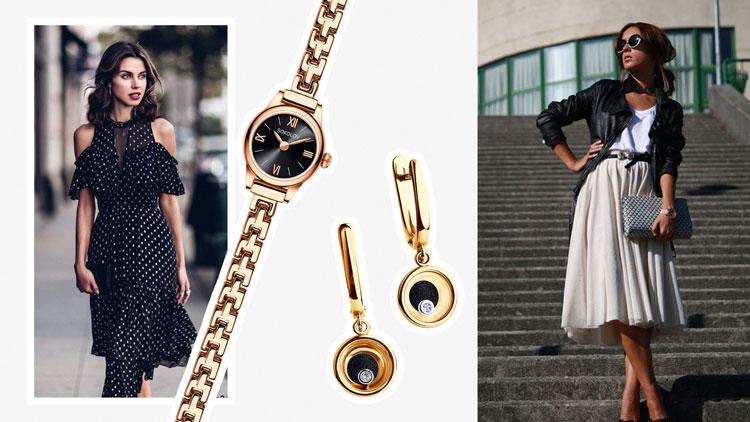 Золотой браслет для часов: как носить
