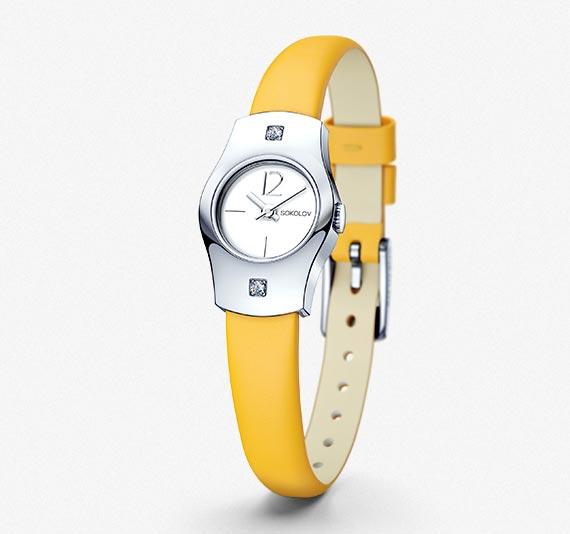 Женские серебряные часы, коллекция Why not