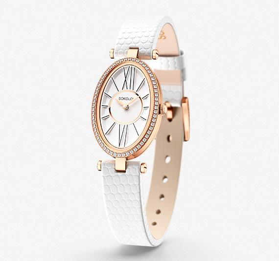 Женские золотые часы, коллекция Allure