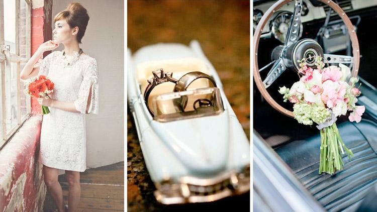 Идеи для ретро-свадьбы в стиле Одри Хепберн