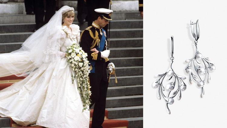 Свадебные украшения принцессы Дианы