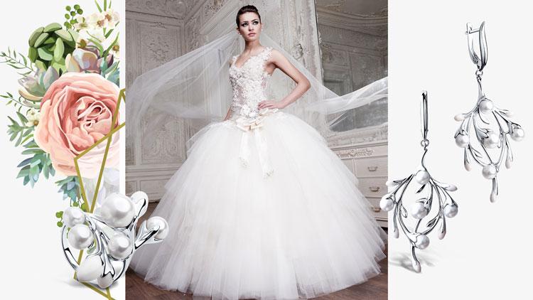 Кому подходит пышное свадебное платье