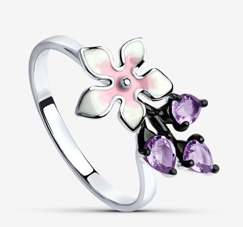 В серебряном цвете
